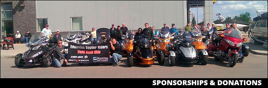 Martin Motorsports Edmonton >> Sponsorships & Donations | Martin Motor Sports | Edmonton Alberta